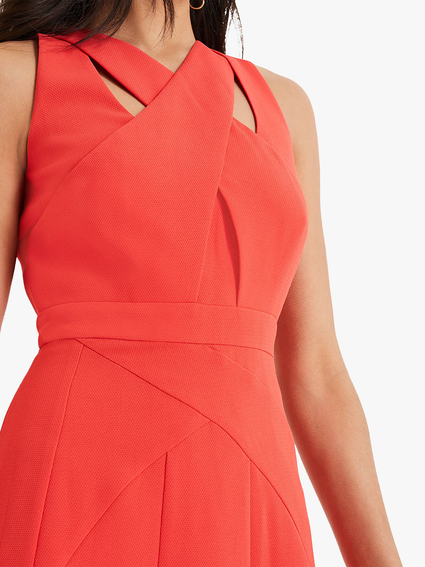 Buy Damsel in a Dress Melita Cut Out Detail Dress, Cherry, 14 Online at johnlewis.com