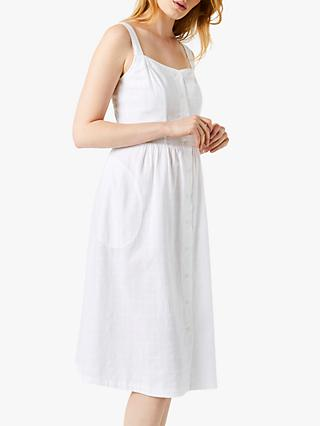 White Stuff Tidal Cotton Dress, White