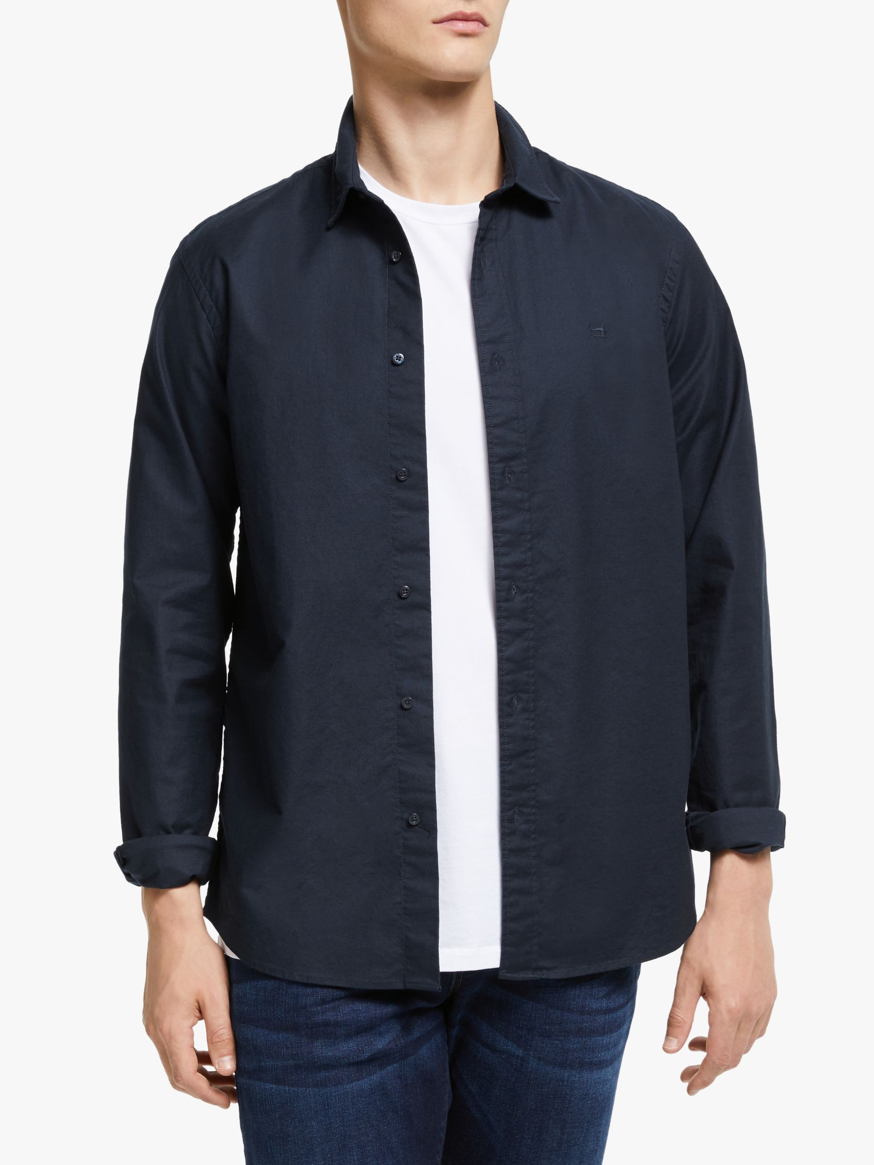 Scotch & Soda Scotch & Soda Nos Oxford Shirt, Navy