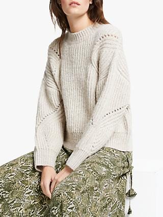 AND/OR Annabel Textured Knit Jumper