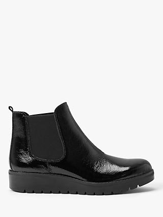 John Lewis & Partners Designed for Comfort Polline Leather Chelsea Ankle Boots