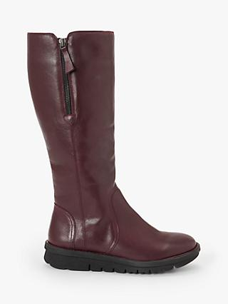 John Lewis & Partners Designed for Comfort Tate Leather Long Boots
