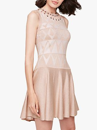 Damsel in a Dress Ricarda Knitted Dress, Champagne