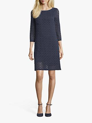 Betty Barclay Textured Lace Dress, Dark Sky