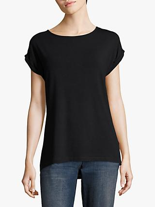 Betty Barclay Cap Sleeve T-Shirt, Dark Sky
