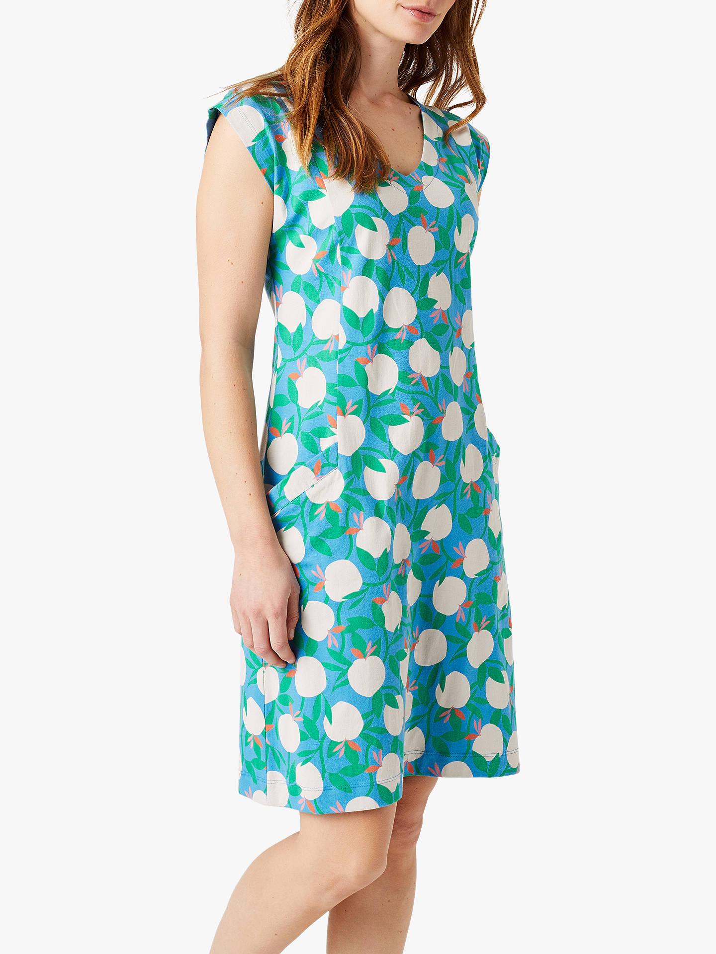 9ccf686489 Buy White Stuff Lena Dress, Soft Blue Print, 6 Online at johnlewis.com ...