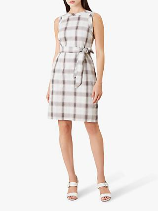 Hobbs Amalfi Dress, Mint/Multi