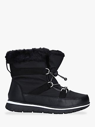 Carvela Comfort Ruby Drawstring Snow Boots, Black