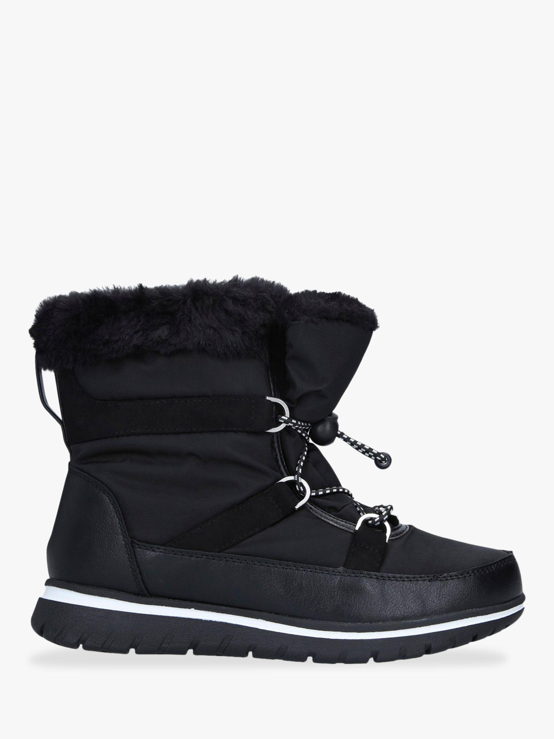 Carvela Comfort Carvela Comfort Ruby Drawstring Snow Boots, Black