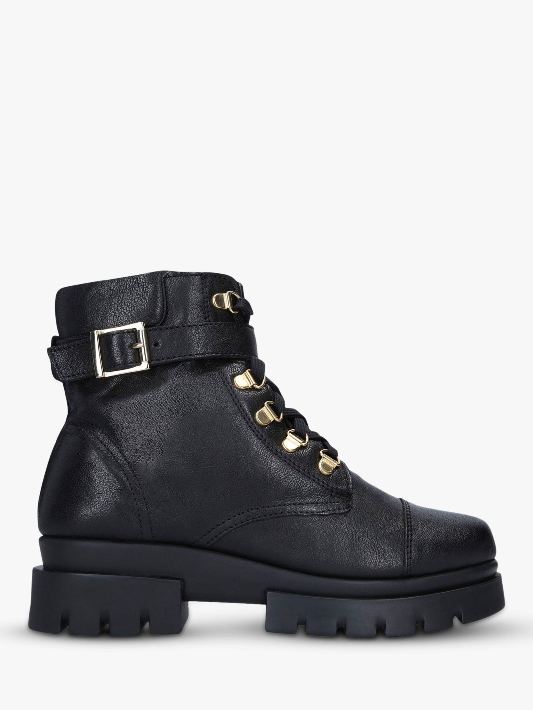 Carvela Comfort Carvela Comfort Run Leather Hiker Boots, Black