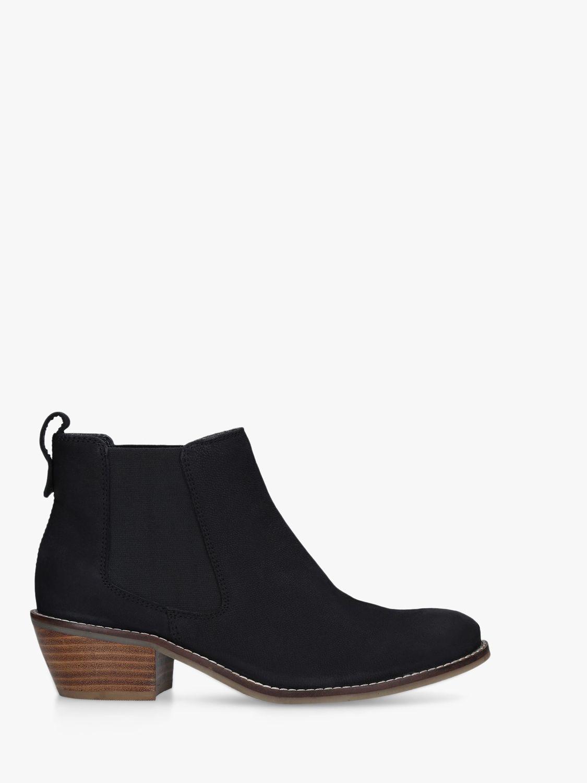 Carvela Comfort Carvela Comfort Rink Leather Chelsea Boots, Black