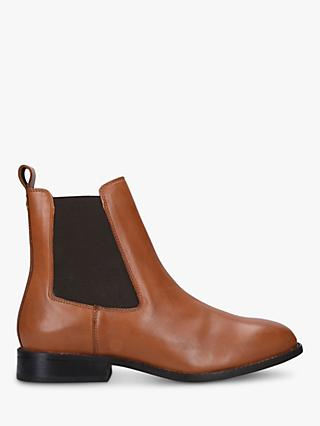 Carvela Comfort Rest Leather Chelsea Ankle Boots