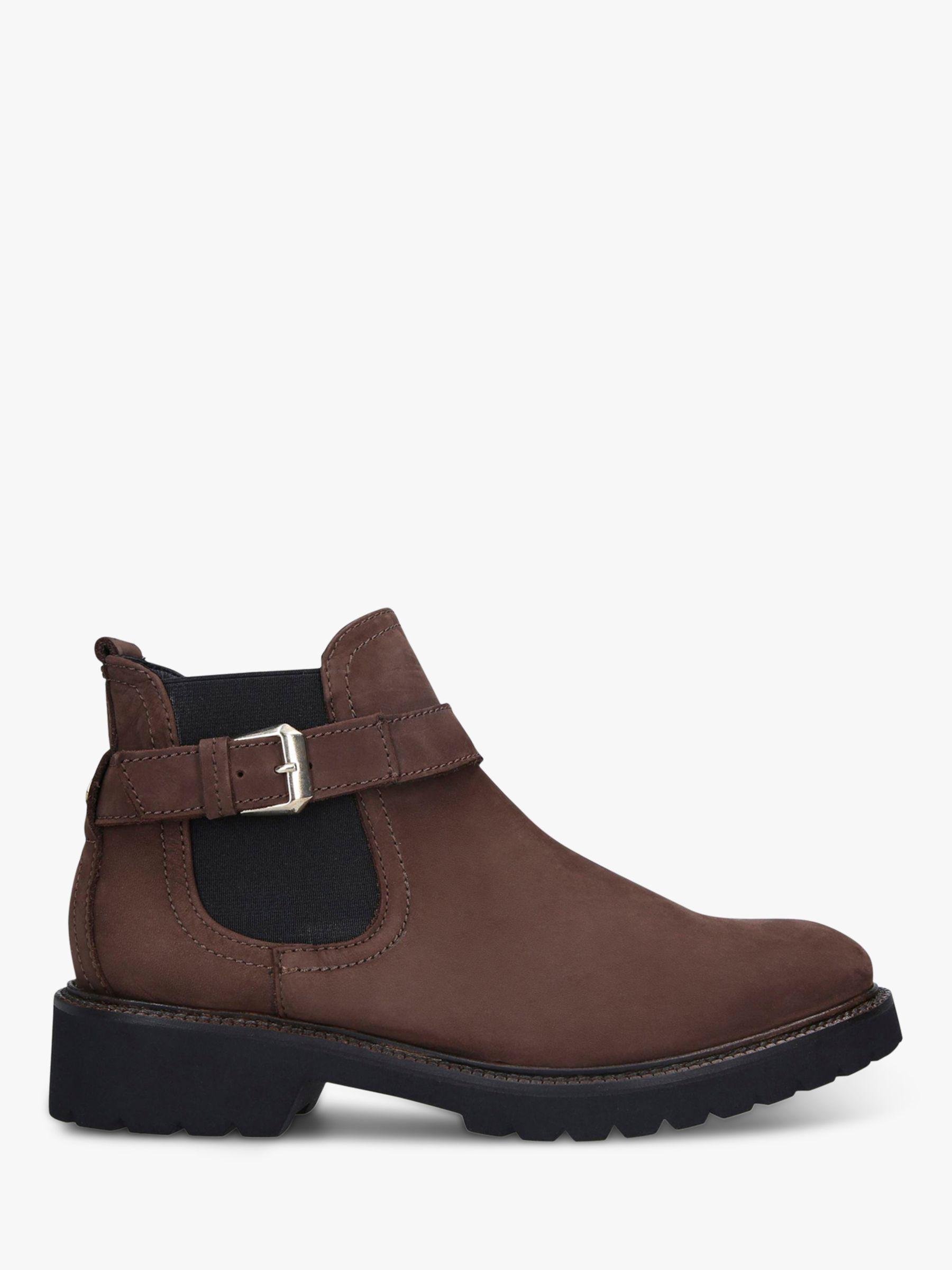 Carvela Comfort Carvela Comfort Radiant Leather Ankle Boots, Brown