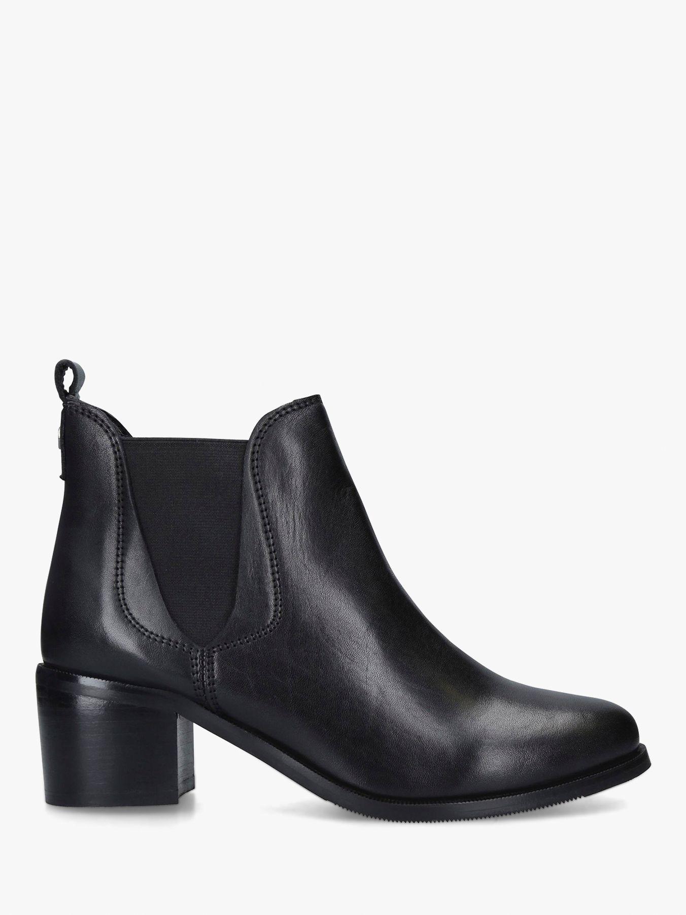Carvela Comfort Carvela Comfort Ronald Block Heel Leather Ankle Boots