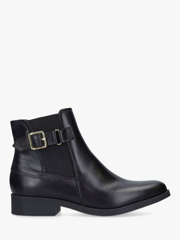 Carvela Comfort Carvela Comfort Rich Leather Ankle Boots, Black
