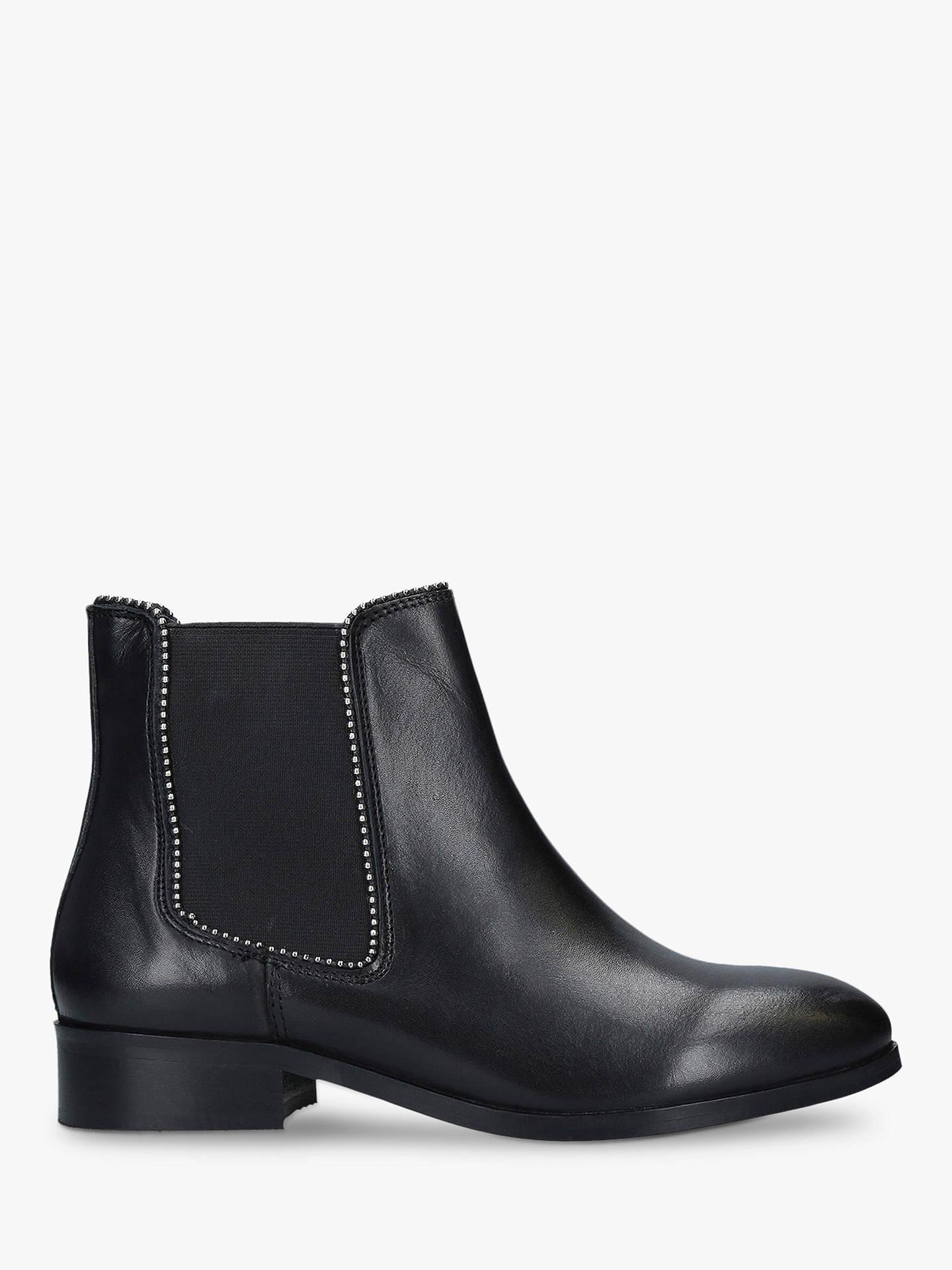 carvela-sphere-leather-stud-detail-boots,-black by carvela