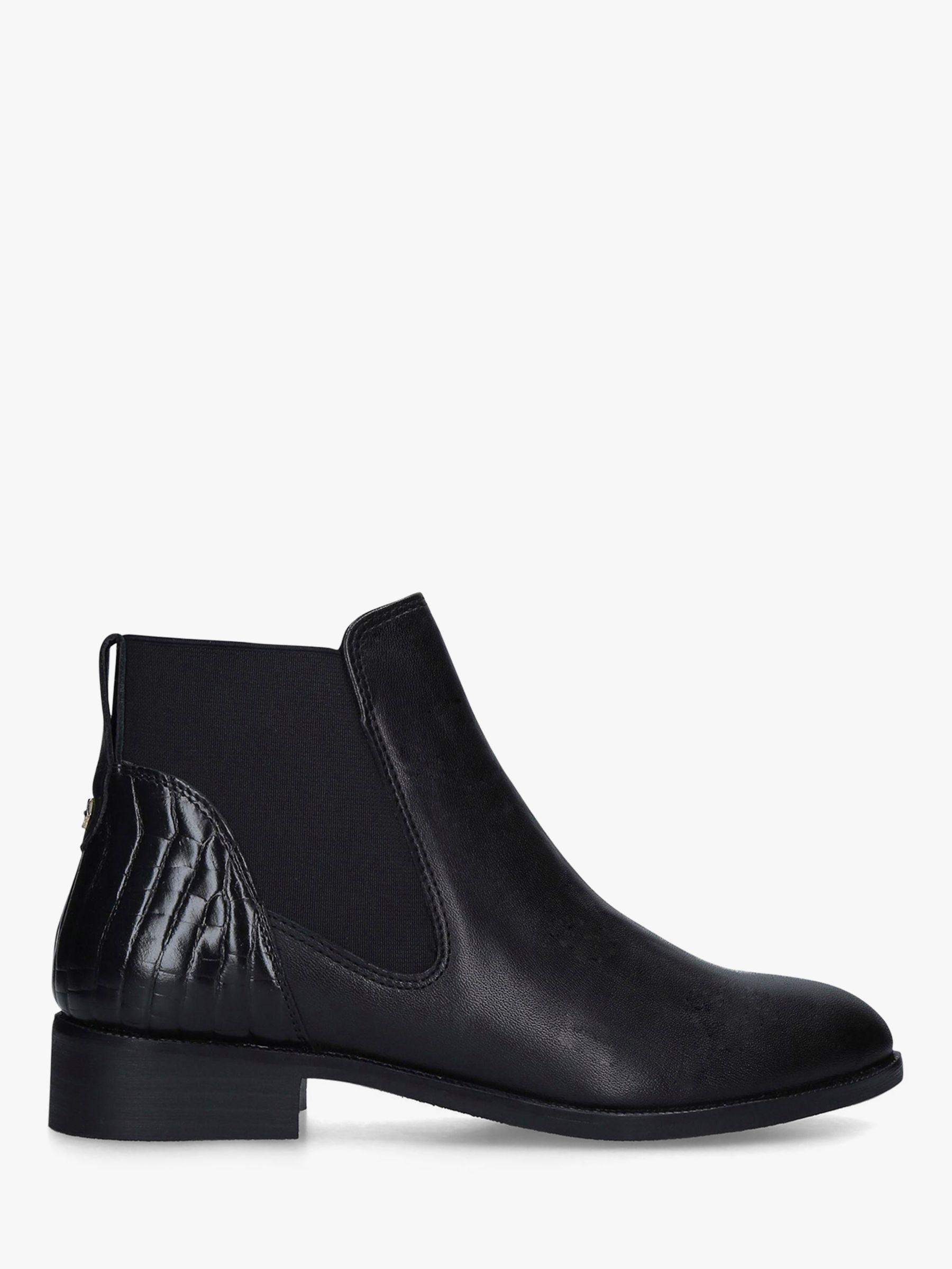 Carvela Carvela Stifle Leather Chelsea Boots, Black