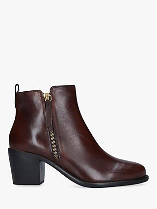 Carvela Secil Leather Ankle Boots
