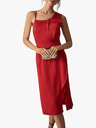 Reiss Sara Ruffle Detail Dress