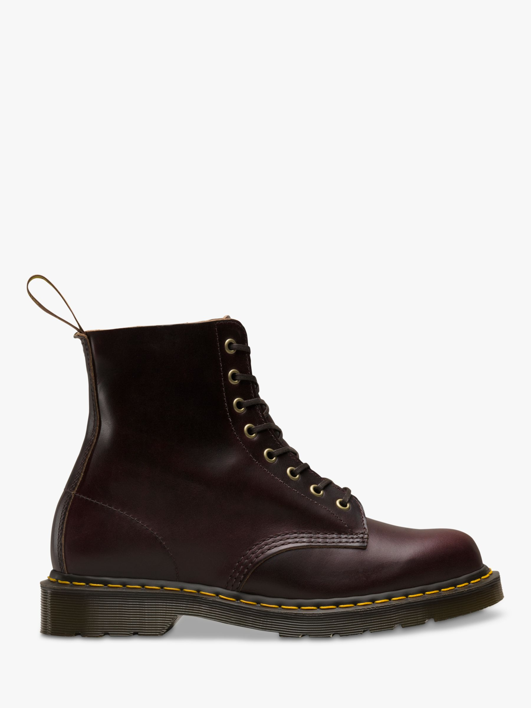 Dr Martens Dr Martens 1460 Pascal Leather Boots, Burgundy Chrome