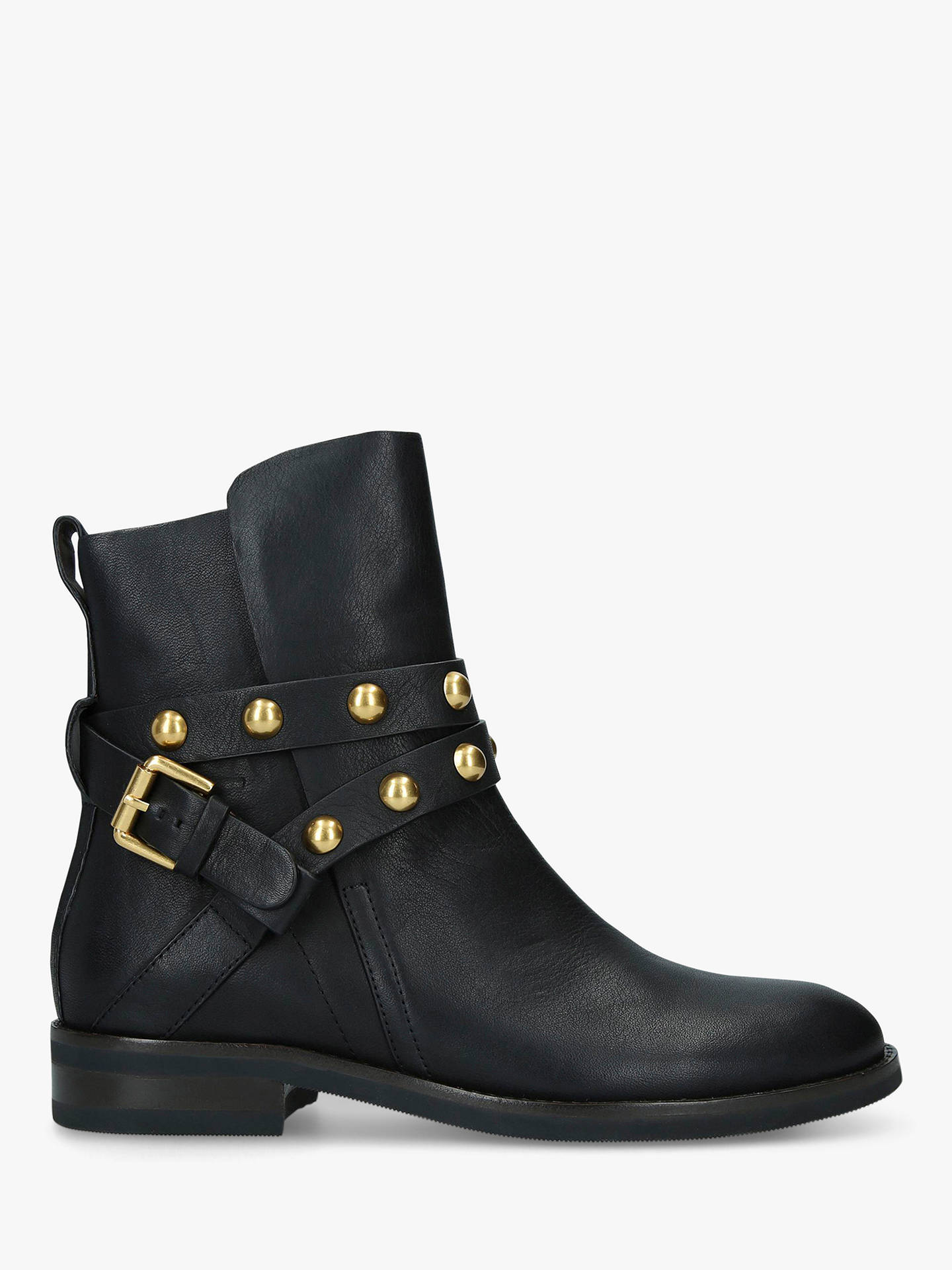 c5616f42583d See By Chloé Strap Leather Ankle Boots, Black