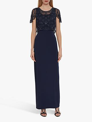 Gina Bacconi Jendra Beaded Maxi Dress