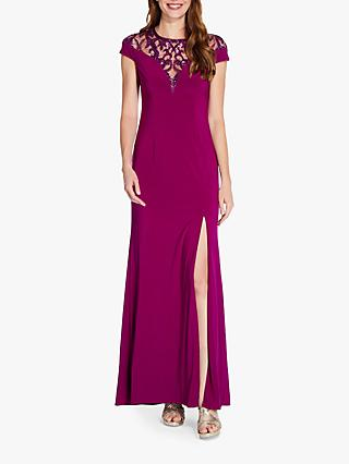 Adrianna Papell Sequin Jersey Dress, Wildberry