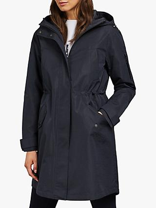 Ted Baker Valioni Technical Rain Mac, Blue Dark