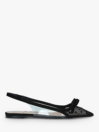 RED Valentino Plexi Slingback Pumps, Black