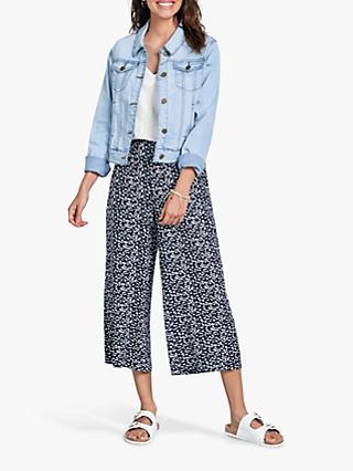8a3cadf4442824 hush Mariella Star Print Trousers, Star Midnight/White