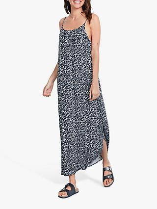 hush Giselle Star Print Slip Dress, Star Midnight/White
