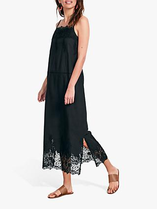 hush Ambra Lace Dress, Black
