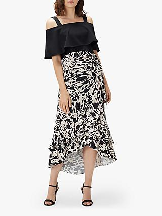 Coast Freida Animal Print Skirt, Multi