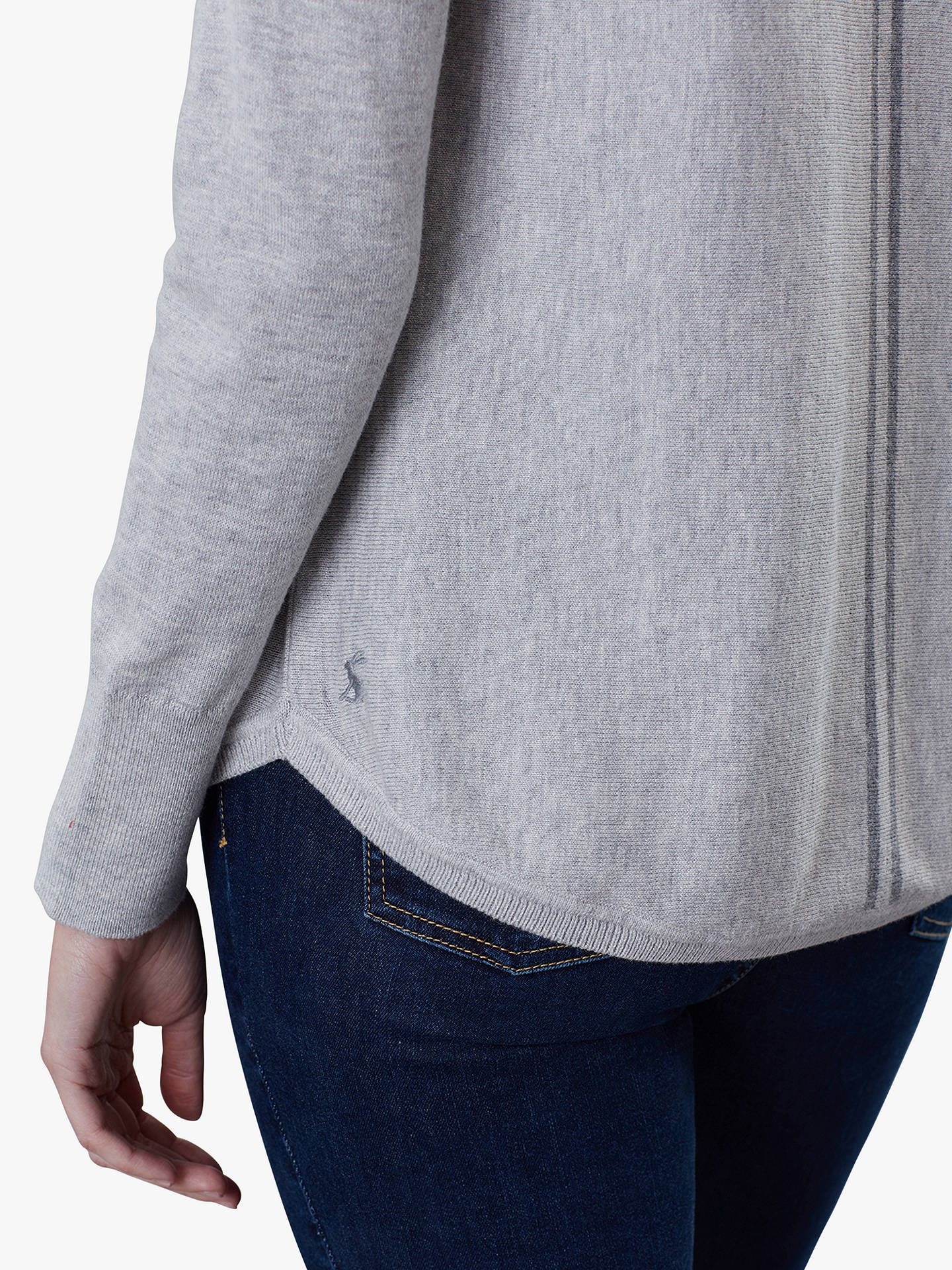 Buy Joules Poppy Cotton Round Neck Jumper, Grey Marl, 6 Online at johnlewis.com