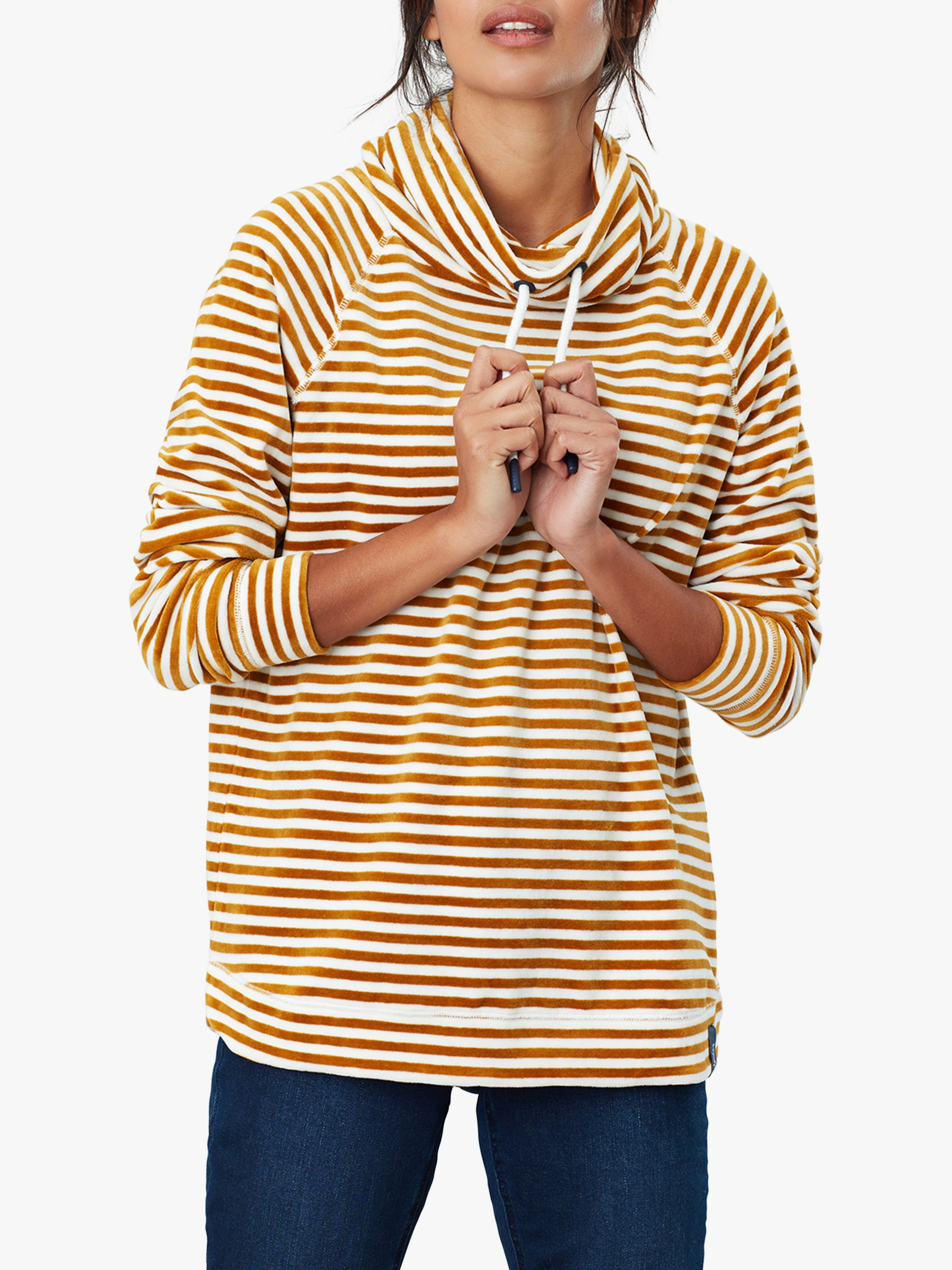 Joules Joules Mayston Funnel Neck Light Sweatshirt