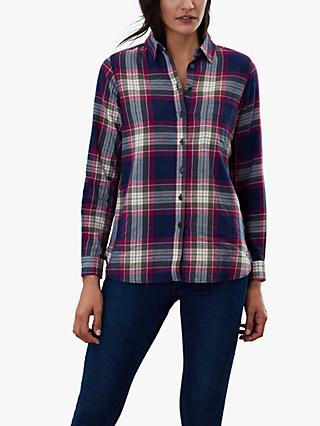 Joules Lorena Check Brushed Shirt