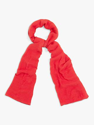 Phase Eight Henn Plain Scarf, Carmine