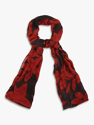Phase Eight Lena Leaf Scarf, Multi