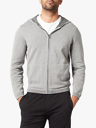 Dockers Plaited Full Zip Hoodie, Foil