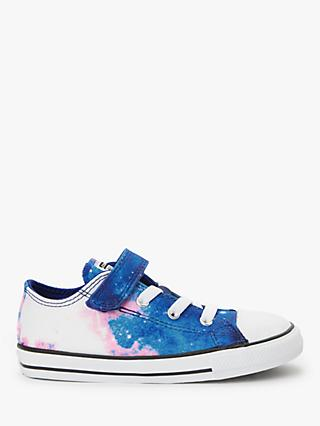 Converse Junior Chuck Taylor All Star Miss Galaxy Trainers, Blue/Pink