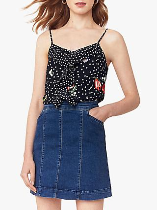 Oasis Denim Mini Skirt, Denim