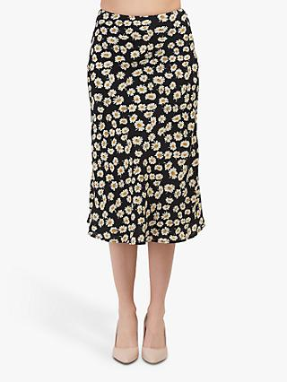 Rails London Daisy Print Skirt, Black