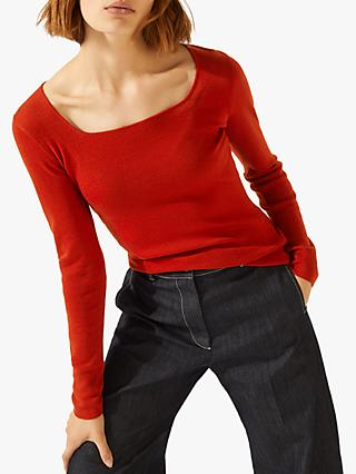 Jigsaw Merino Jumper Square Neck Jumper