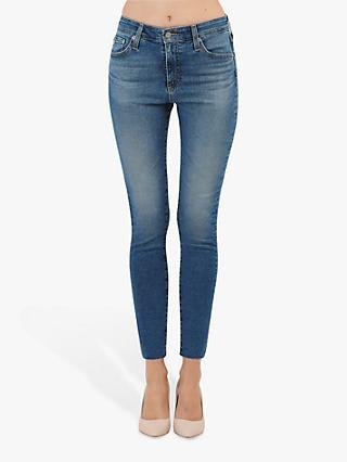 AG The Farrah High Rise Skinny Jeans, 13 Years Flowing