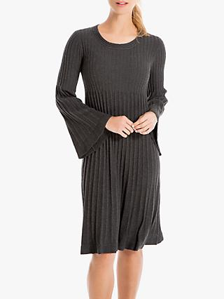 Max Studio Knitted Dress, Charcoal