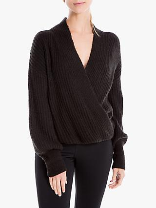 Max Studio Wrap Jumper
