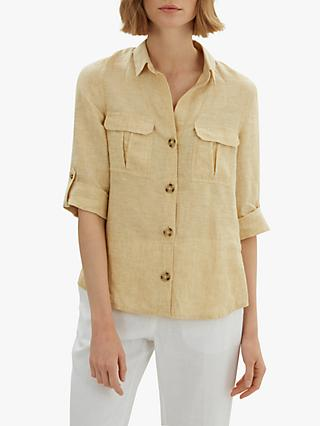 Jaeger Patch Pocket Linen Shirt