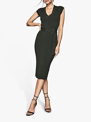 Reiss Amelie Knitted Midi Dress