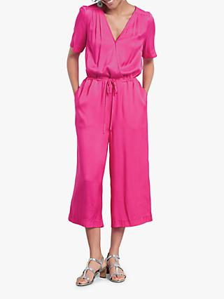 hush Carly Cropped Jumpsuit, Pink