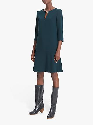 Gerard Darel Donatella Flute Hem Shift Dress